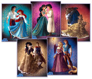 Fairytale couples