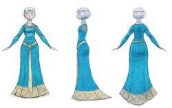Blue-dress-concept