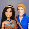 Disney fairytale couples collection doll muñecas disney store 2014 parejas princess princesas heroes princes principe pocahontas john smith