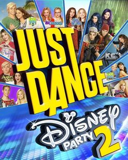 Just Dance Disney Party 2 cover