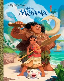 Random House Moana books 4