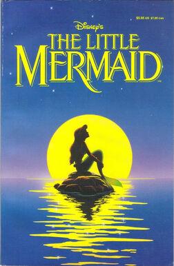 Little Mermaid Comic Cover
