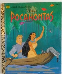 Pocahontas little golden book