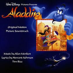 Disney's Aladdin sountrack cover