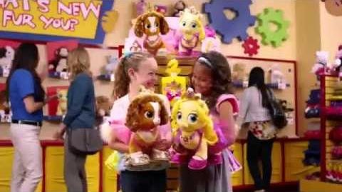 Palace Pets Commercial 2014 Build A Bear Workshop Belle & Rapunzel