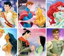 Lista de casais da Disney Princesa