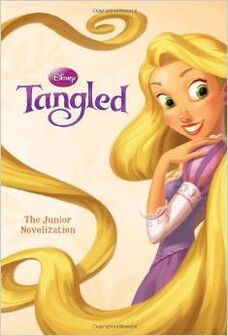 Tangled the junior novel