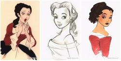 Disney original concept belle