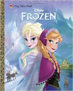 Frozen big golden book