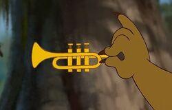 Louis' trumpet giselle