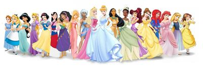 Disney Princess Original Lineup