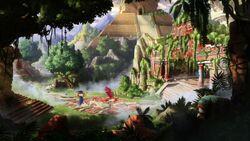 Elena and the Secret of Avalor Maruvian temple