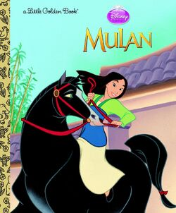 Mulan little golden book reprint