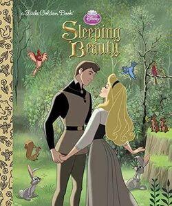 Sleeping Beauty Little Golden Book 2014 Reprint