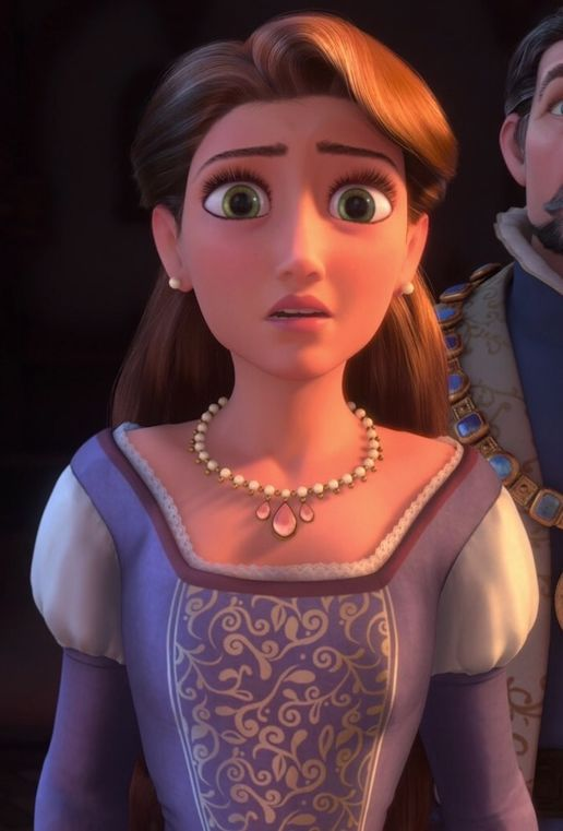 The Queen Tangled Disney Princess Wiki Fandom