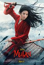 Mulan (2020 film) poster