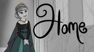 """Frozen 2 - """"Home"""" - Storyboard Animatic-2"""