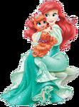 Ariel with treasure