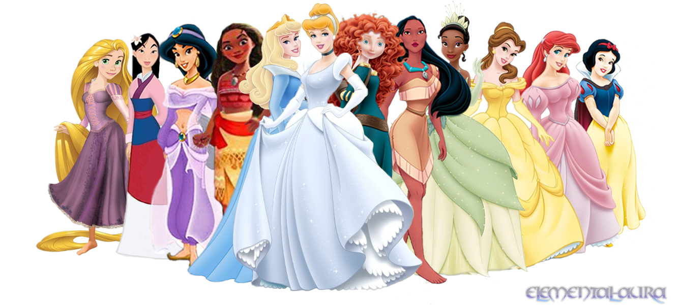 e50fe2b5d55 List of Disney Princesses