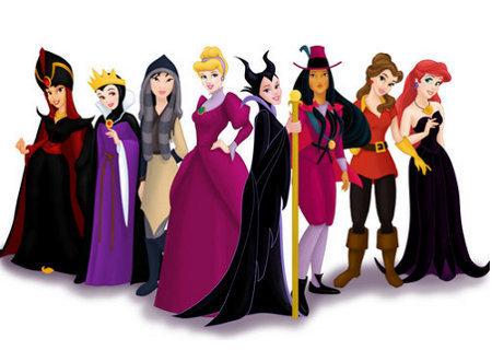 image disney princesses villains disney princess 16401408 450 331