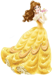 Sticker princesse Belle