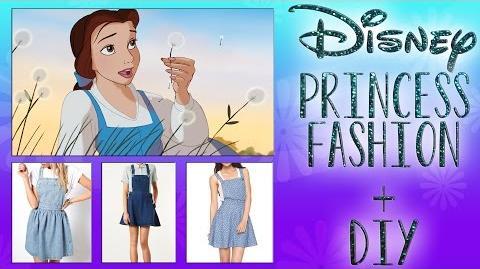 Disney Princess Style + Cinderella DIY w Jrzgirlz!