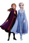 Anna & Elsa Frozen 2 Render