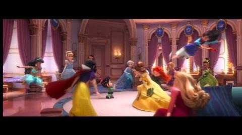 Wreck It Ralph 2 Trailer but it's the Disney Princesses scenes