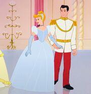 Cinderella's royal ball gown