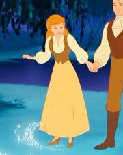 Cinderella's anniversary dress
