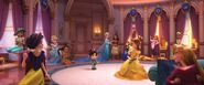 Vanellope and the disney princesses