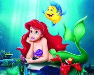 Ariel---Flounder-the-little-mermaid-223085 1280 1024