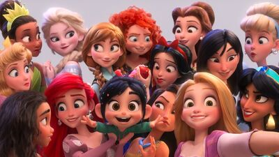 Ralph Breaks the Internet Disney Princesses Full Screen