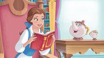 DP-DPRA-Belle-Is-My-Babysitter-Mrs.-Potts-And-Chip-Visiting-Belle