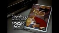 Sleeping Beauty - 1986 VHS Commercial