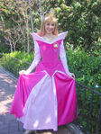 Princess Aurora poses for a photograph