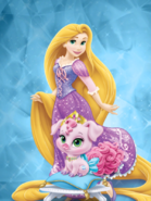 Rapunzel and truffles 2 by unicornsmile-d9ipf9f