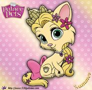 Summer-Princess-Palace-Pet-Coloring-Page-by-SKGaleana-image