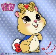 Madame-Hamilot-Princess-Palace-Pet-Coloring-Page-SKGaleana-image