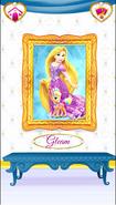 Gleam's Portrait with Rapunzel