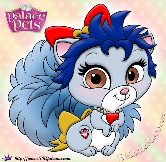 Thistleblossom Princess Palace Pet Coloring Page SKGaleana Image