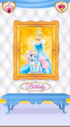 Bibbidy's Portrait With Cinderella