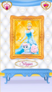 Slipper's Portrait With Cinderella