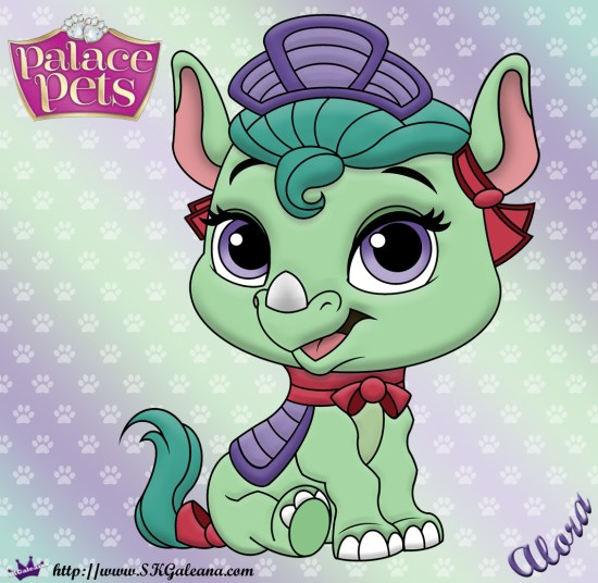 Alora Princess Palace Pet Coloring Page SKGaleana Image