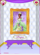 Bayou's Portrait With Tiana
