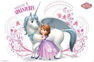Sofia Unicorn Adventures Poster