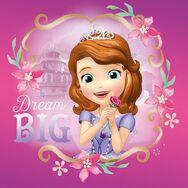Sofia Dream Big Poster