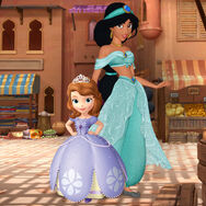 Princess Jasmine And Princess Sofia Poster