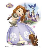 Mini Poster Sofia The First