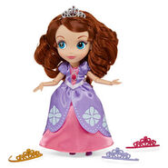 Sofia The first Fashion Doll Set With Tiaras